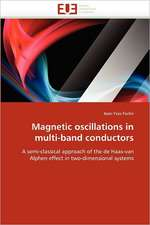Magnetic oscillations in multi-band conductors