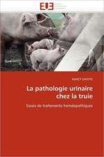 La pathologie urinaire chez la truie