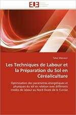 Les Techniques de Labour Et La Preparation Du Sol En Cerealiculture:  Cas Du Burkina Faso