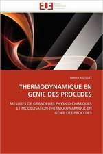 Thermodynamique En Genie Des Procedes