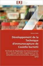 Developpement de La Technique D''Immunocapture de Coxiella Burnetii:  Le Cas Espagnol