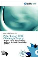 PETER LEITCH QSM CHALLENGE TRO