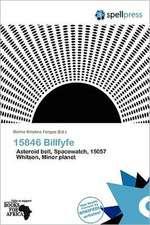 15846 BILLFYFE