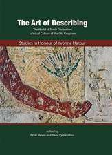 The Art of Describing:Studies  in Honour of Yvonne Harpur