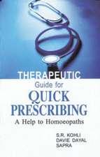 Therapeutic Guide for Quick Prescribing