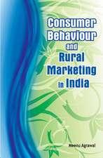 Consumer Behaviour & Rural Marketing in India