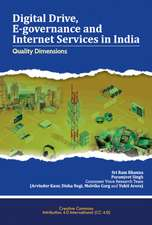 Digital Drive, E-governance and Internet Services in India