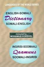 English-Somali and Somali-English Dictionary