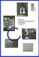 Candide 5:  Journal for Architectural Knowledge