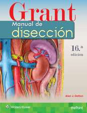 Grant. Manual de disección