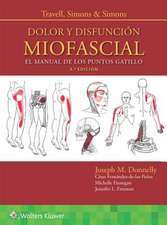 TRAVELL DOLOR DISFUNC MIOFASCIAL 3E