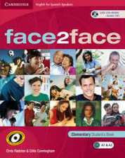 face2face for Spanish Speakers Elementary Student's Book with CD-ROM/Audio CD