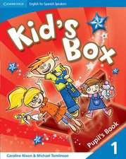 Kid's Box for Spanish Speakers Level 1 Pupil's Book
