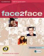 face2face for Spanish Speakers Elementary Workbook with Key