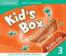 Kid's Box for Spanish Speakers Level 3 Audio CDs (3)