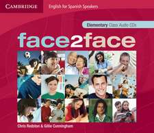 face2face for Spanish Speakers Elementary Class Audio CDs (4)