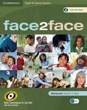 face2face for Spanish Speakers Advanced Student's Book with CD-ROM