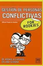 Gestion de Personas Conflictivos For Rookies