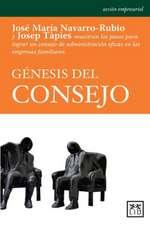 Genesis del Consejo