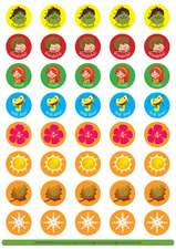 Greenman and the Magic Forest All Levels Reward Stickers