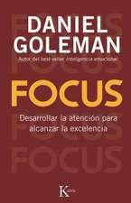 Focus:  Desarrollar La Atencion Para Alcanzar La Excelencia