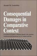 Consequential Damages in Comparative Context