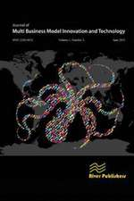 Journal of Multi Business Model Innovation and Technology Vol.1 Issue