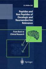 Peptides and Non Peptides of Oncologic and Neuroendocrine Relevance: From Basic to Clinical Research