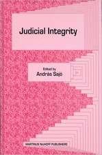 Judicial Integrity