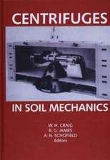 Centrifuges in Soil Mechanics