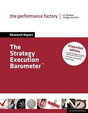The Strategy Execution Barometer - Expanded Edition
