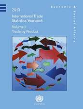 International Trade Statistics Yearbook:  Trade by Commodity
