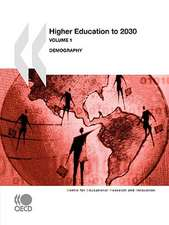 Higher Education to 2030: Demography