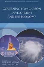 Governing Low-Carbon Development and the Economy