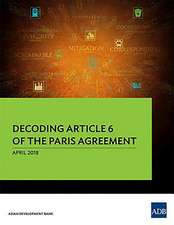 Decoding Article 6 of the Paris Agreement