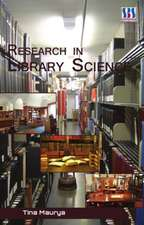 Research in Library Science