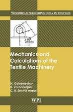 Mechanics and Calculations of Textile Machinery:  The Art of Spiritual Warfare