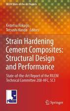 Strain Hardening Cement Composites: Structural Design and Performance: State-of-the-Art Report of the RILEM Technical Committee 208-HFC, SC3