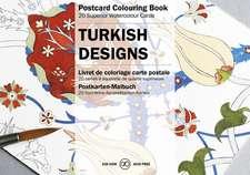 Turkish:  Postcard Colouring Book