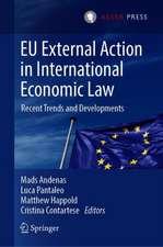 EU External Action in International Economic Law: Recent Trends and Developments