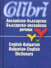 English-Bulgarian & Bulgarian-English Dictionary