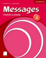 Messages 4 Teacher's Book Slovenian Edition