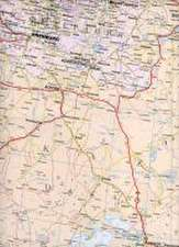 Kazakhstan Political Map 1 : 3 000 000