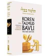 Koren Talmud Bavli, Vol.9:  Tractate Yoma, Noe Color Edition, Hebrew/English