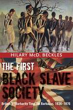 The First Black Slave Society