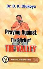 Praying Against the Spirit of the Valley