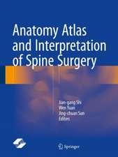 Anatomy Atlas and Interpretation of Spine Surgery