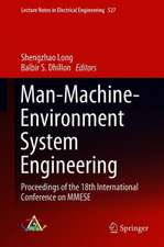 Man-Machine-Environment System Engineering : Proceedings of the 18th International Conference on MMESE