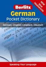 Berlitz Language: German Pocket Dictionary