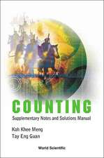Counting:  Supplementary Notes and Solutions Manual